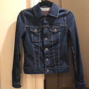 AG denim jacket- dark wash